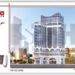 Thiết kế kiến trúc khách sạn hiện đại tại Đà Nẵng SH KS 0038