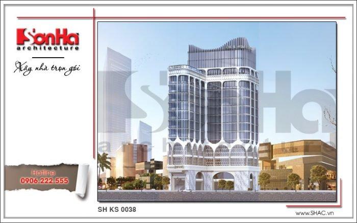 Công trình xây dựng thiết kế và thi công khách sạn tại Cà Mau của SHAC