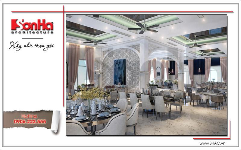 Ra mắt mẫu thiết kế nhà hàng kiến trúc Pháp sang trọng tại Phú Quốc – SH BCK 0045 10