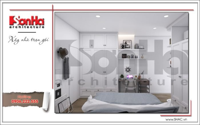 nội thất phòng ngủ đẹp dành cho chung cư