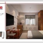 Thiết kế phòng ngủ khách sạn mini kiến trúc Pháp tại Hải Phòng sh ks 0039