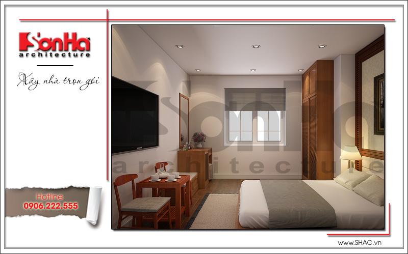 Mẫu thiết kế khách sạn mini kiến trúc Pháp đẹp tại Hải Phòng – SH KS 0039 10