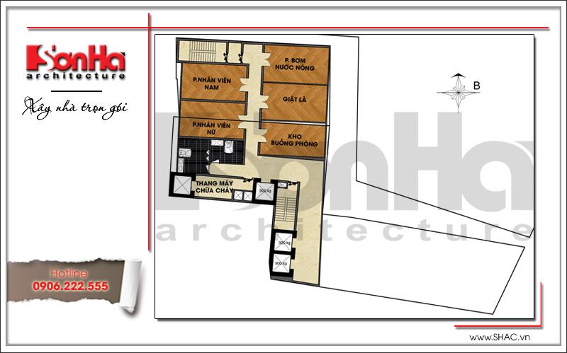 Ra mắt mẫu thiết kế khách sạn hiện đại 15 tầng sang trọng tại Đà Nẵng – SH KS 0038 11
