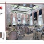 Thiết kế phòng ăn nhà hàng 2 tầng kiến trúc Pháp sang trọng tại Phú Quốc sh bck 0045