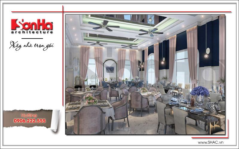 Ra mắt mẫu thiết kế nhà hàng kiến trúc Pháp sang trọng tại Phú Quốc – SH BCK 0045 11