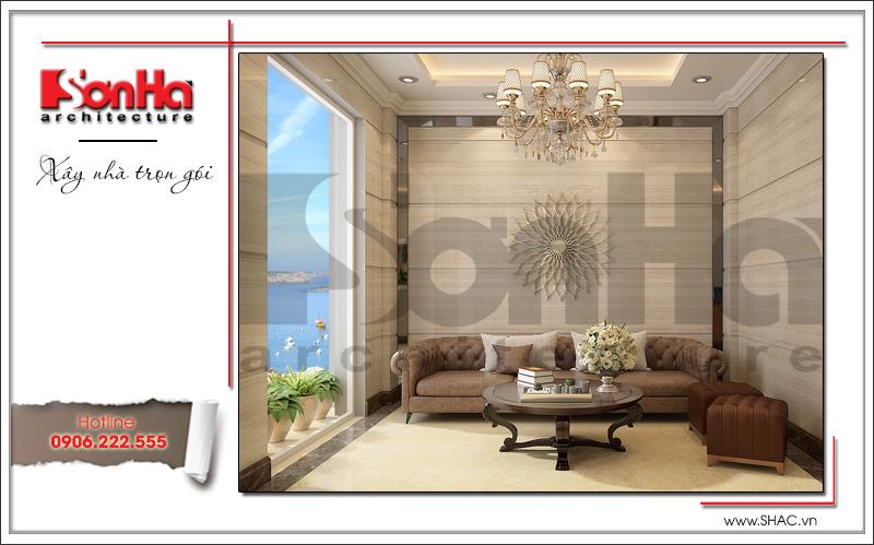 Mẫu thiết kế khách sạn mini kiến trúc Pháp đẹp tại Hải Phòng – SH KS 0039 5