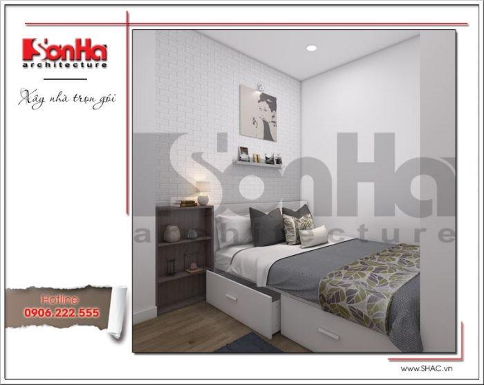 thiết kế nội thất phòng ngủ dành cho chung cư hiện đại