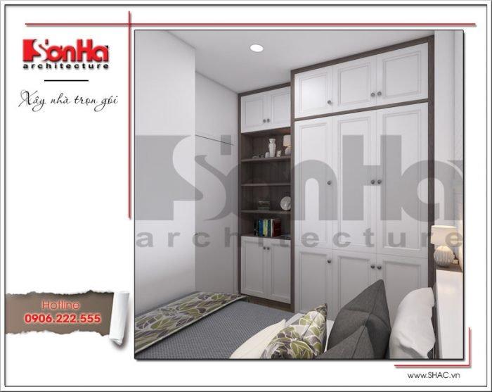 Mẫu Thiết kế phòng ngủ giúp việc chung cư Tràng An Complex hiện đại cao cấp tại Hà Nội