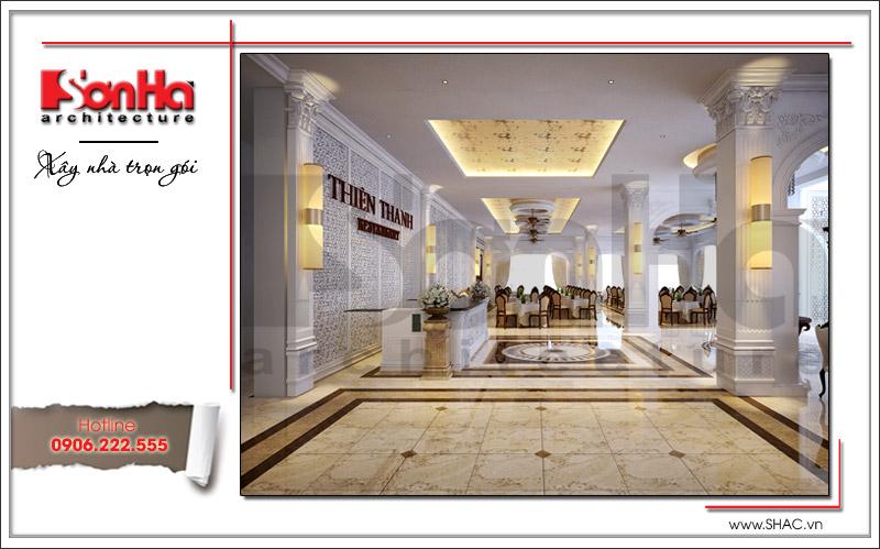 Ra mắt mẫu thiết kế nhà hàng kiến trúc Pháp sang trọng tại Phú Quốc – SH BCK 0045 13