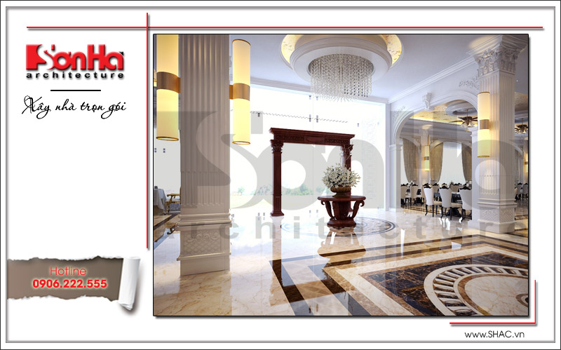 Ra mắt mẫu thiết kế nhà hàng kiến trúc Pháp sang trọng tại Phú Quốc – SH BCK 0045 14