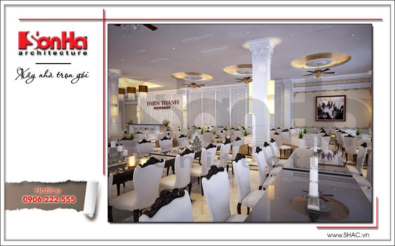 Ra mắt mẫu thiết kế nhà hàng kiến trúc Pháp sang trọng tại Phú Quốc – SH BCK 0045 15
