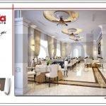 Thiết kế nội thất nhà hàng 2 tầng kiến trúc Pháp sang trọng tại Phú Quốc sh bck 0045
