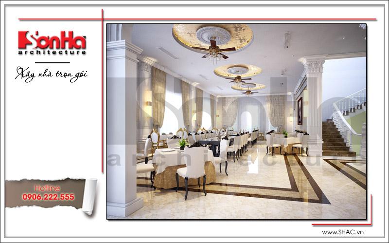 Ra mắt mẫu thiết kế nhà hàng kiến trúc Pháp sang trọng tại Phú Quốc – SH BCK 0045 16