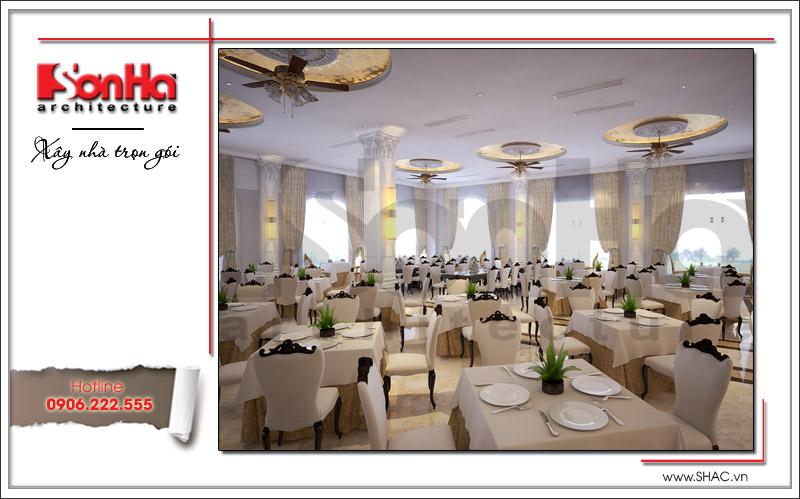 Ra mắt mẫu thiết kế nhà hàng kiến trúc Pháp sang trọng tại Phú Quốc – SH BCK 0045 17