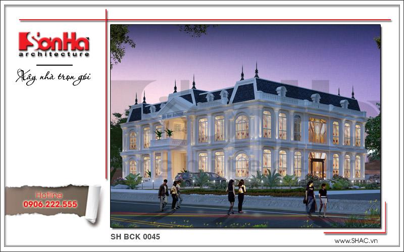 Ra mắt mẫu thiết kế nhà hàng kiến trúc Pháp sang trọng tại Phú Quốc – SH BCK 0045 2