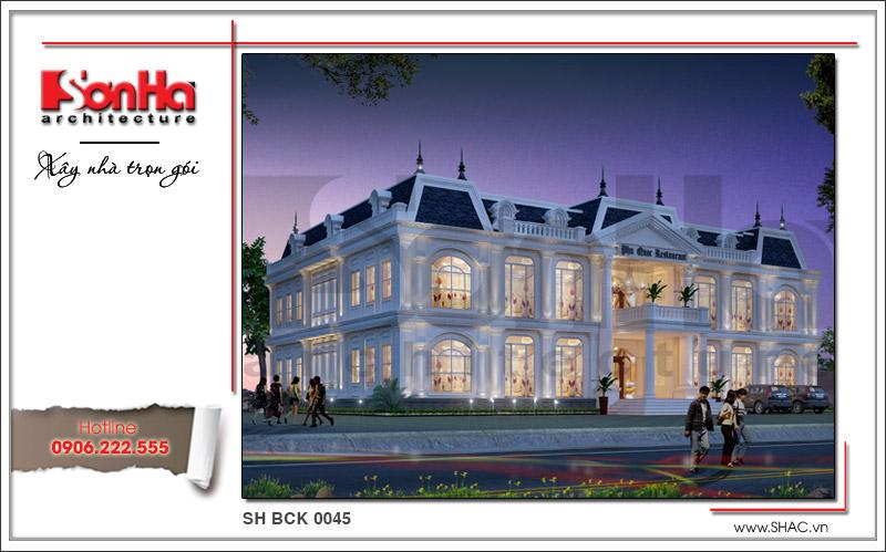 Ra mắt mẫu thiết kế nhà hàng kiến trúc Pháp sang trọng tại Phú Quốc – SH BCK 0045 3