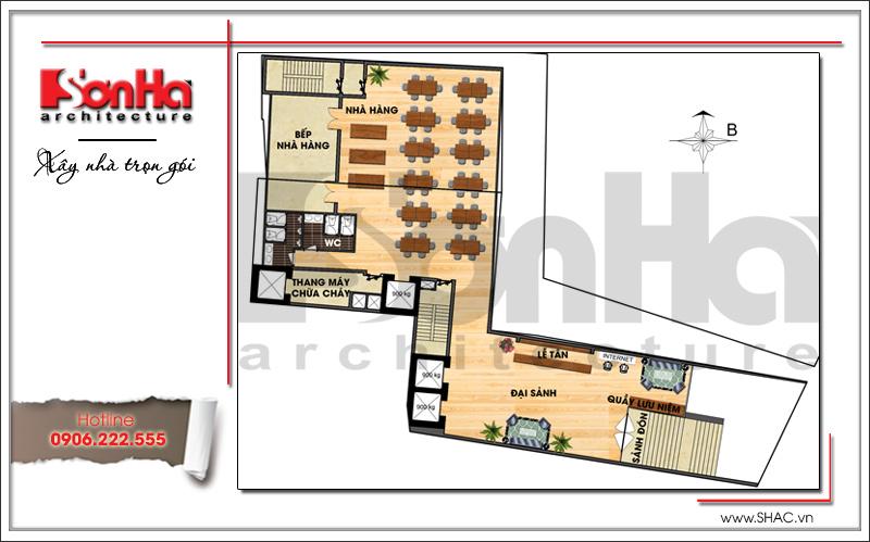 Ra mắt mẫu thiết kế khách sạn hiện đại 15 tầng sang trọng tại Đà Nẵng – SH KS 0038 4