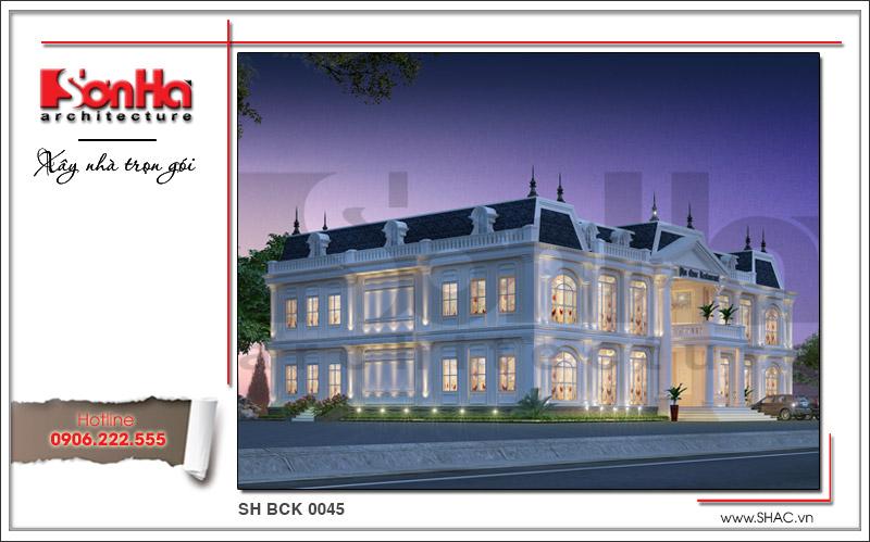 Ra mắt mẫu thiết kế nhà hàng kiến trúc Pháp sang trọng tại Phú Quốc – SH BCK 0045 4