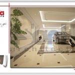 Thiết kế gara khách sạn mini kiến trúc Pháp tại Hải Phòng sh ks 0039