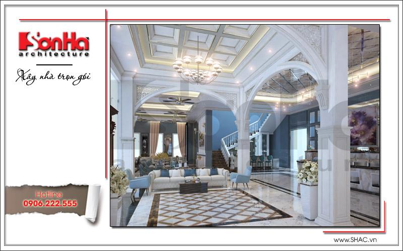 Ra mắt mẫu thiết kế nhà hàng kiến trúc Pháp sang trọng tại Phú Quốc – SH BCK 0045 5
