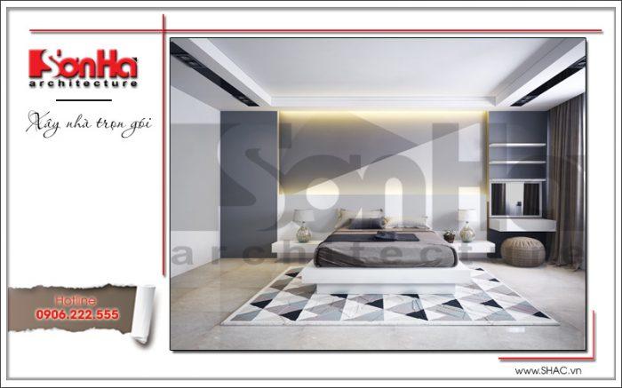 5 Thiết kế nội thất phòng ngủ 1 nhà ống hiện đại đẹp tại hà nội sh nod 0174