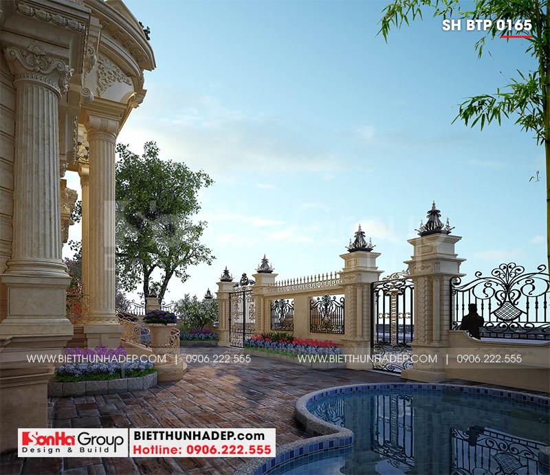 Quang cảnh trong biệt thự tân cổ điển mặt tiền 16,8m tại Đà Nẵng