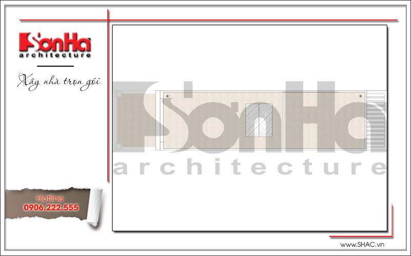 Mẫu thiết kế nhà ống kiến trúc Pháp 4 tầng mặt tiền hẹp tại Hải Phòng – SH NOP 0145 7