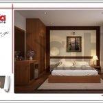 Mẫu nội thất phòng ngủ khách sạn mini kiến trúc Pháp tại Hải Phòng sh ks 0039