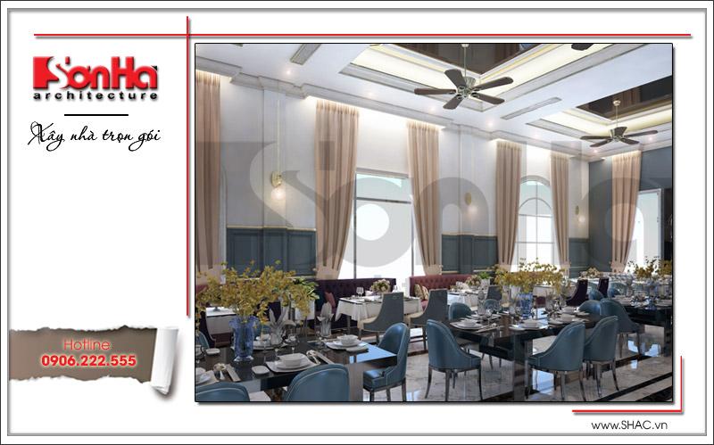 Ra mắt mẫu thiết kế nhà hàng kiến trúc Pháp sang trọng tại Phú Quốc – SH BCK 0045 7