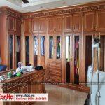 7 Ảnh thực tế nội thất phòng thay đồ biệt thự cổ điển pháp tại sài gòn sh btp 0109