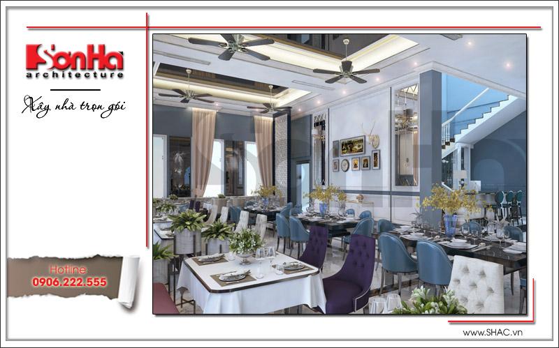 Ra mắt mẫu thiết kế nhà hàng kiến trúc Pháp sang trọng tại Phú Quốc – SH BCK 0045 8