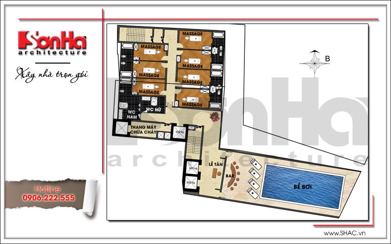 Ra mắt mẫu thiết kế khách sạn hiện đại 15 tầng sang trọng tại Đà Nẵng – SH KS 0038 9