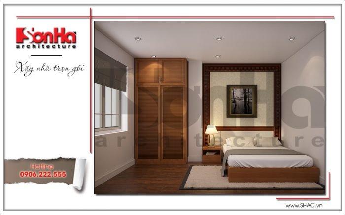 Mẫu thiết kế phòng ngủ đẹp khách sạn mini kiến trúc Pháp tại Hải Phòng sh ks 0039