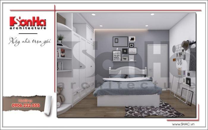 thi công nội thất phòng ngủ hiện đại cho chung cư đẹp