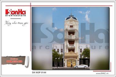 BÌA Thiết kế kiến trúcnhà ống Pháp tại Bắc Ninh sh nop 0144