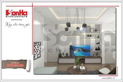 BÌA Thiết kế nội thất phòng khách chung cư Tràng An Complex hiện đại cao cấp tại Hà Nội