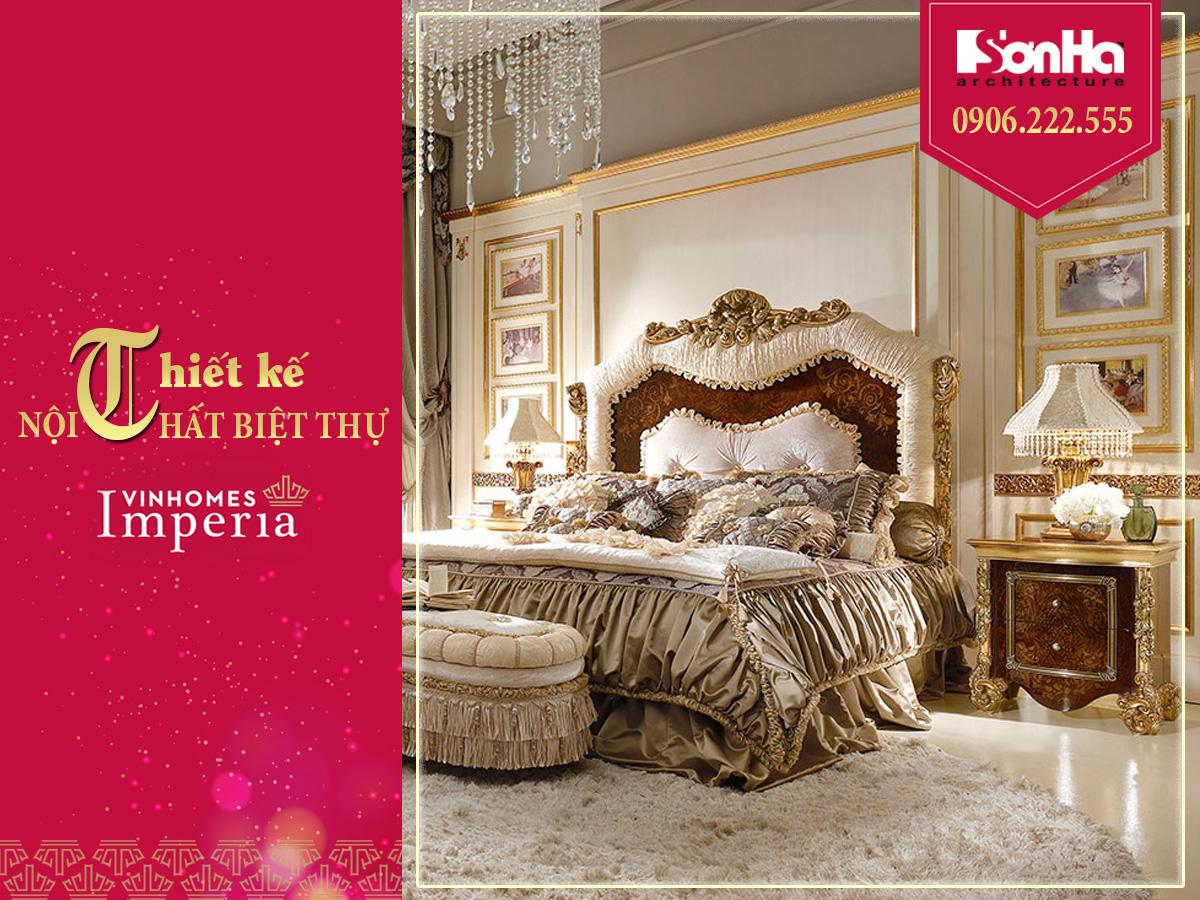 thiết kế nội thất phòng ngủ phong cách châu âu
