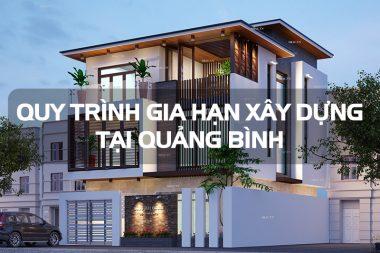 Gia hạn giấy phép xây dựng nhà ở riêng lẻ tại Quảng Bình cần hồ sơ gì? 12