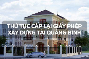 Quy định cấp lại giấy phép xây dựng nhà ở riêng lẻ tại nông thôn Quảng Bình 5