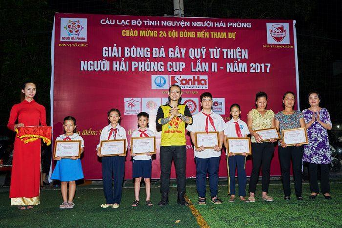 SHAC hân hạnh tài trợ giải bóng đá gây quỹ từ thiện Người Hải Phòng cup lần 2 – năm 2017 1