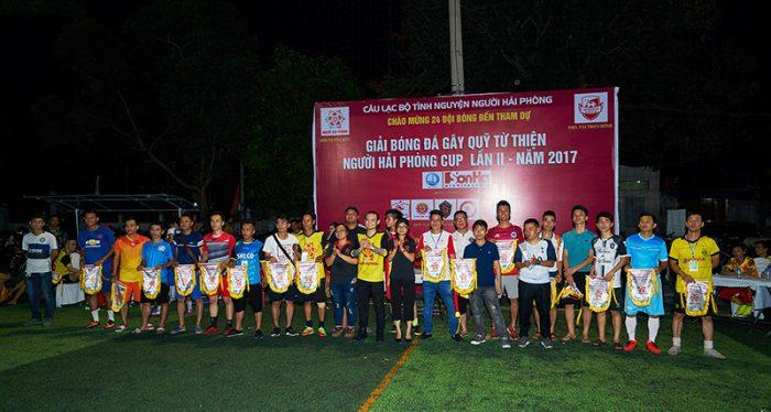 SHAC hân hạnh tài trợ giải bóng đá gây quỹ từ thiện Người Hải Phòng cup lần 2 – năm 2017 2