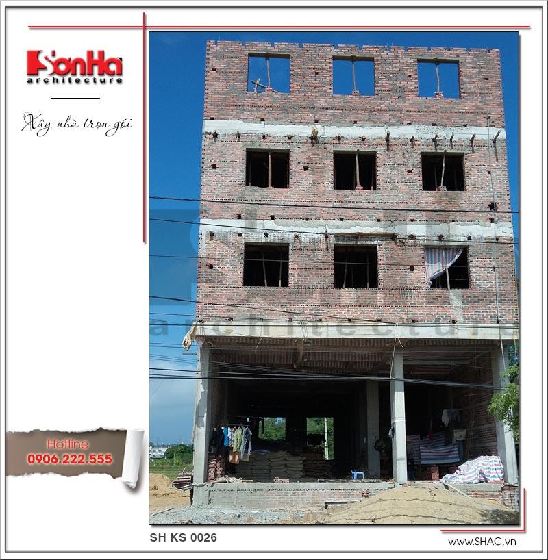 Mẫu thiết kế khách sạn cổ điển Pháp đẳng cấp tại Quảng Ninh - SH KS 0026 5