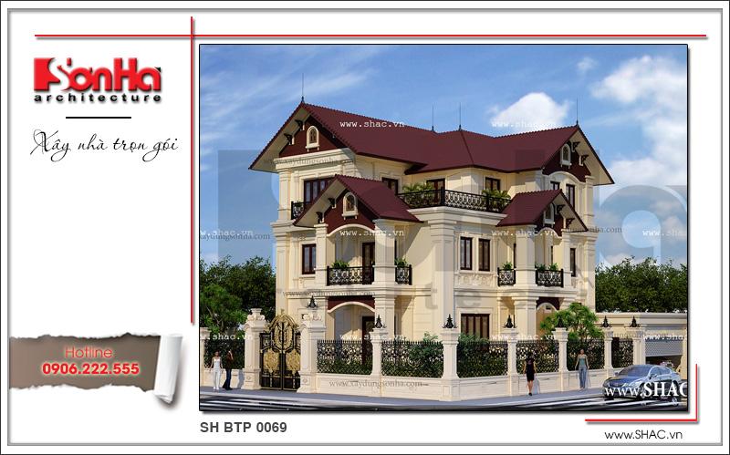 Phát biểu của CĐT Nguyễn Phương - Biệt thự cổ điển 3 tầng tại Quảng Bình 1