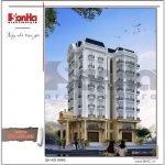 Thiết kế khách sạn kiến trúc Pháp tại Vĩnh Phúc sh ks 0040