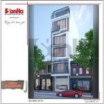 Thiết kế kiến trúc nhà ống hiện đại tại Hà Nội sh nod 0175