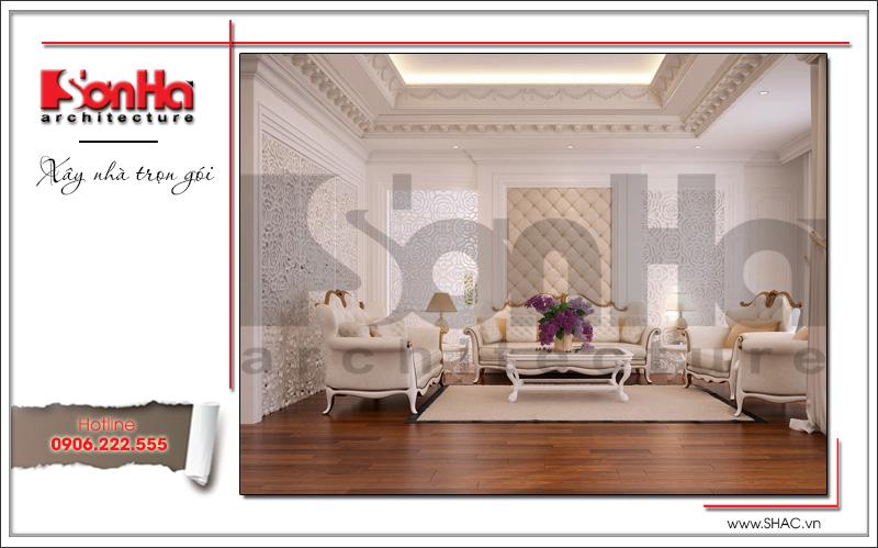 thiết kế nội thất phòng khách căn hộ ciputra tại hà nội