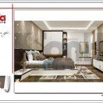 Thiết kế phòng ngủ nhà ống hiện đại tại Hà Nội sh nod 0175