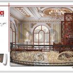 THiết kế phòng thờ biệt thự lâu đài tại Hà Nội sh btld 0030