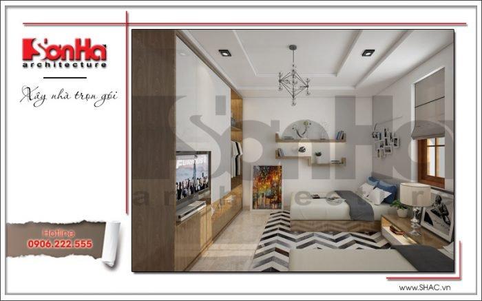 Thiết kế phòng ngủ biệt thự vườn tại Hải Phòng sh btp 0114