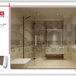 10 Mẫu nội thất phòng tắm wc khách sạn tại vĩnh yên sh ks 0040